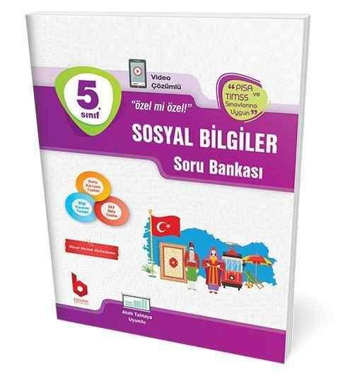 5. Sınıf Sosyal Bilgiler Soru Bankası Basamak Yayınları