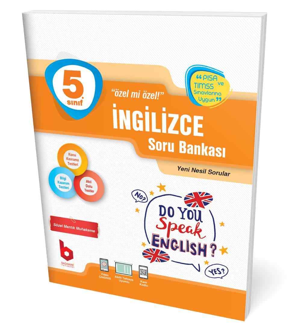5. Sınıf İngilzce Soru Bankası Basamak Yayınları