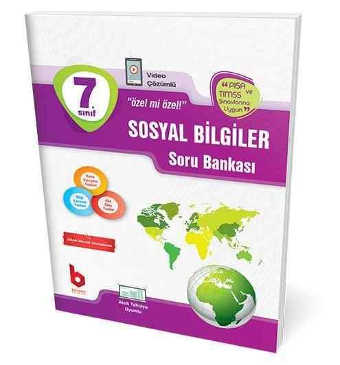 7. Sınıf Sosyal Bilgiler Soru Bankası Basamak Yayınları