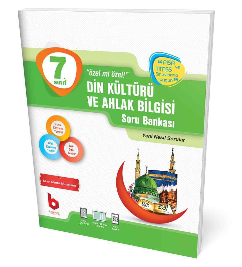 7. Sınıf Din Kültürü ve Ahlak Bilgisi Soru Bankası Basamak Yayınları