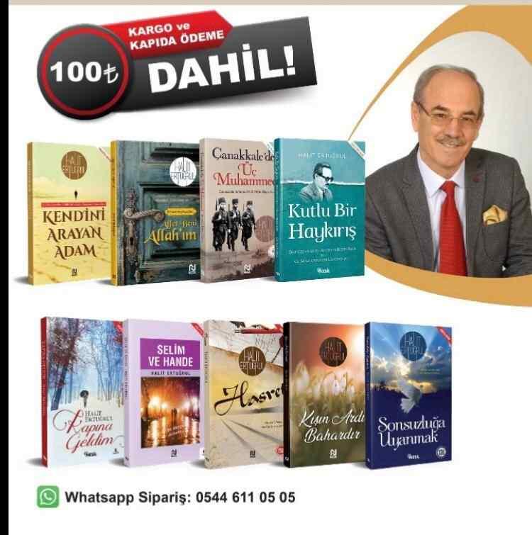 HALİT ERTUĞRUL Kitapları Seti - 9 kitap