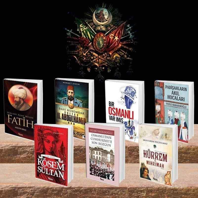 MUHTEŞEM OSMANLI kitap seti - 7 kitap