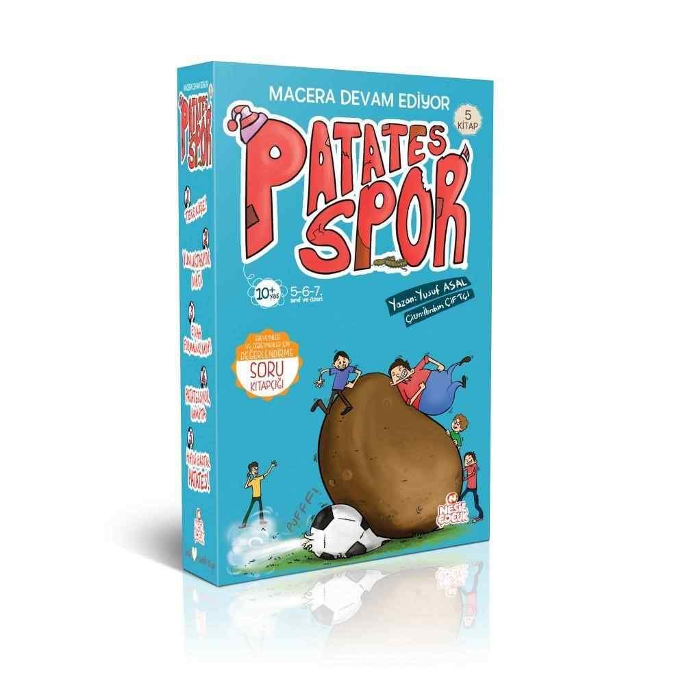 Patates Spor 2. Set (5 Kitap) / 10 Yaş ve Üzeri