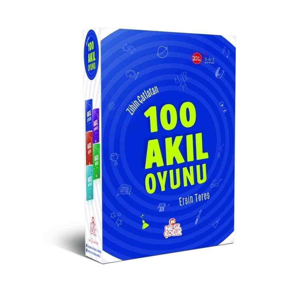 Zihin Çatlatan 100 Akıl Oyunu / 5 Kitaplık Set - ( 5. 6. 7. ve 8. Sınıflar İçin )