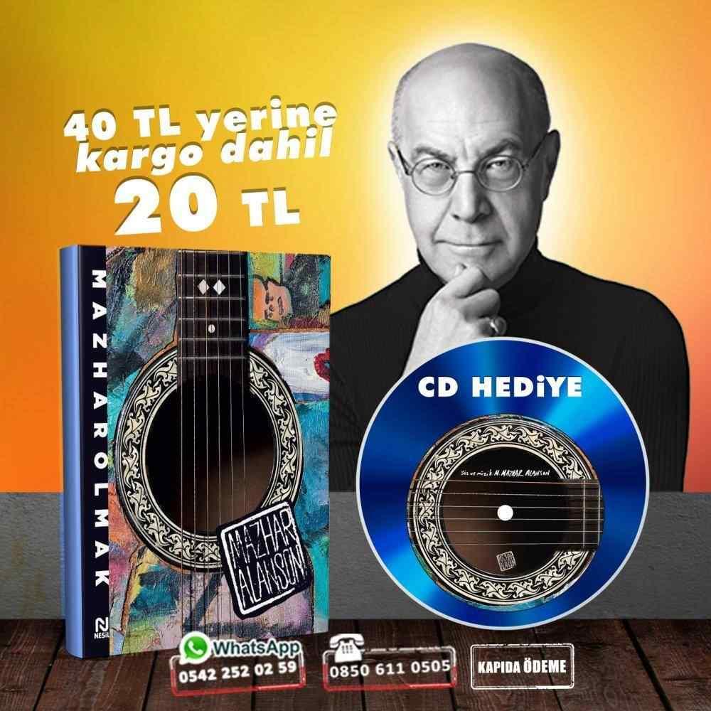 Mazhar Alanson - Mazhar Olmak - 14 Şarkıdan Oluşan CD Hediyeli