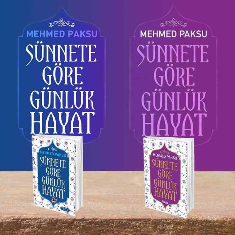 SÜNNETE GÖRE GÜNLÜK HAYAT KİTAP SETİ (CİLTLİ) - Mehmed Paksu imzalı