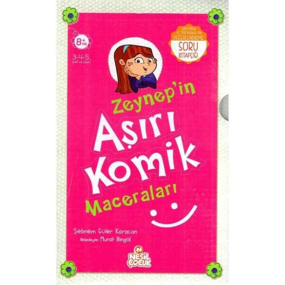 ZEYNEP'İN AŞIRI KOMİK MACERALARI / ŞEBNEM GÜLER KARACAN - 5 Kitap ( 8 Yaş ve Üzeri )