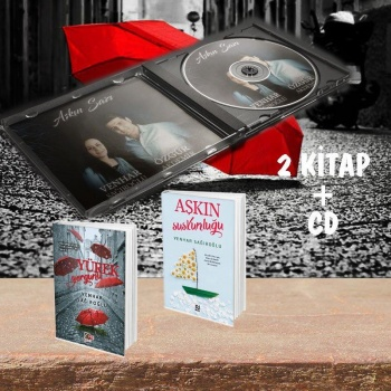 VENHAR SAĞIROĞLU SETİ - 2 kitap ve 1 CD