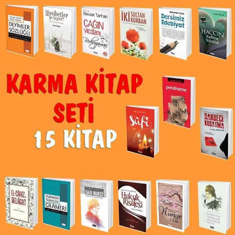 KARMA KİTAP SETİ - 15 kitap