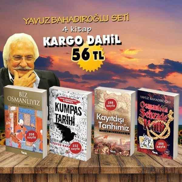 Yavuz Bahadıroğlu kitap seti (4 kitap)