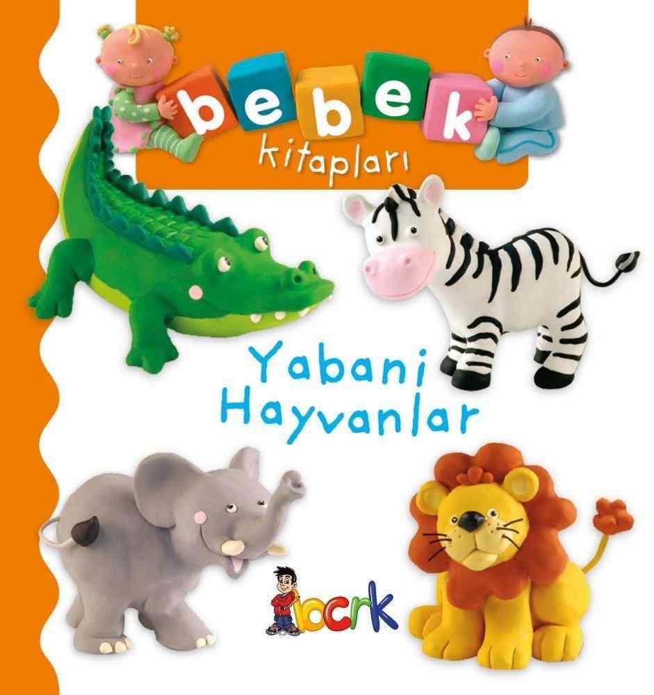 Bebek Kitapları / Yabani Hayvanlar ( 24 Ay ve Üzeri )