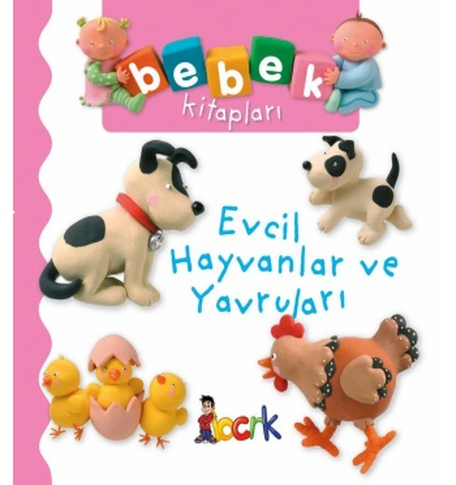 Bebek Kitapları / Evcil Hayvanlar ve Yavruları ( 24 Ay ve Üzeri )
