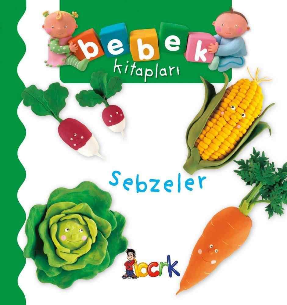 Bebek Kitapları / Sebzeler ( 24 Ay ve Üzeri )