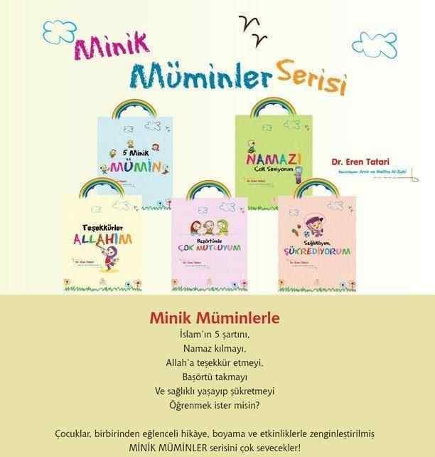 Minik Müminler Serisi -5 Kitap (3 YAŞ VE ÜZERİ) / DR. EREN TATARİ