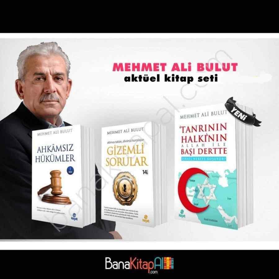 Mehmet Ali Bulut Aktüel Kitap Seti - 3 KİTAP