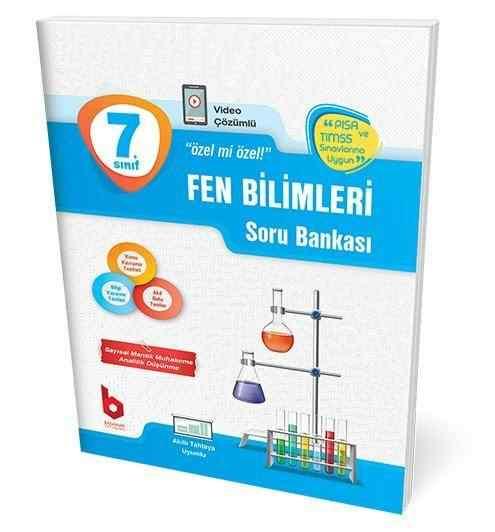 7. Sınıf Fen Bilimleri Soru Bankası Basamak Yayınları