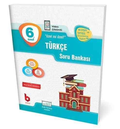 6. Sınıf Türkçe Soru Bankası Basamak Yayınları
