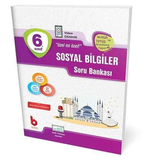 6. Sınıf Sosyal Bilgiler Soru Bankası Basamak Yayınları