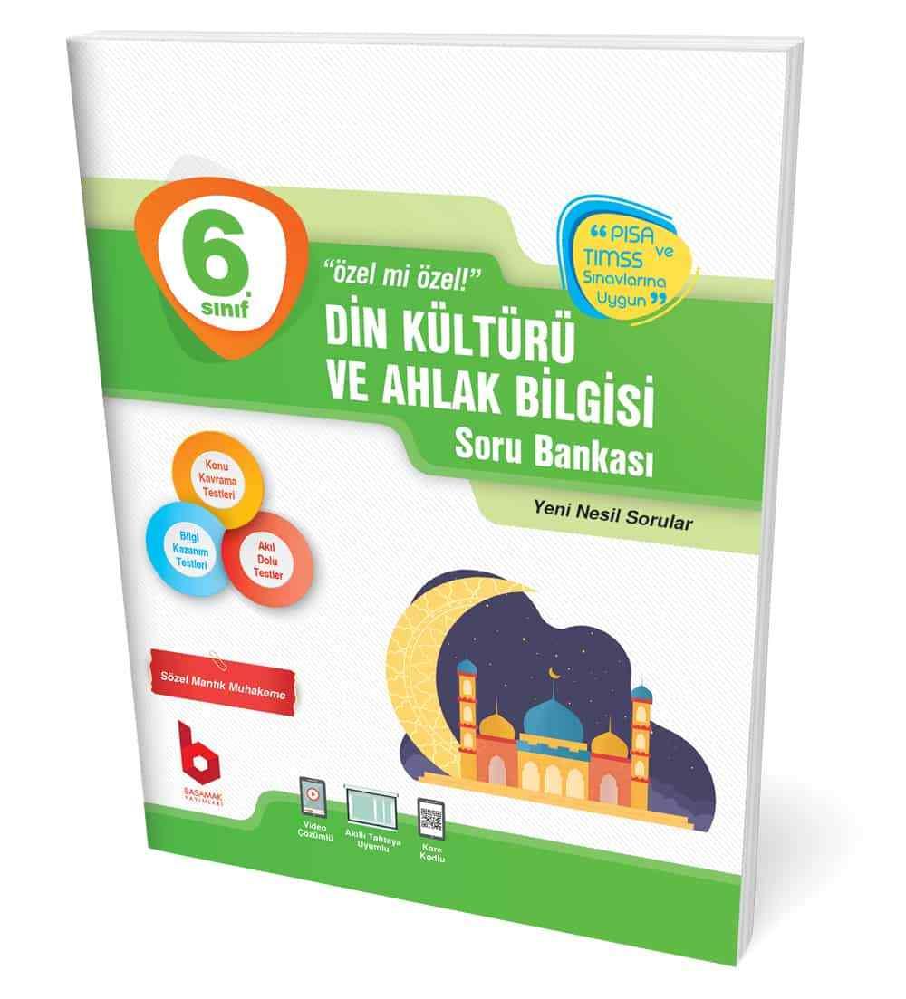 6. Sınıf Din Kültürü ve Ahlak Bilgisi Soru Bankası Basamak Yayınları