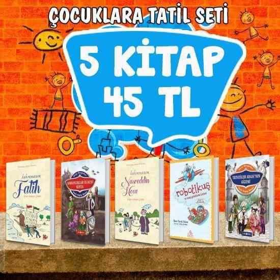 Çocuklar için Tatil Seti - 5 Kitap
