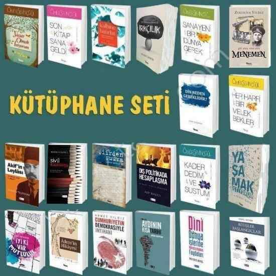 KÜTÜPHANE SETİ - 20 kitap