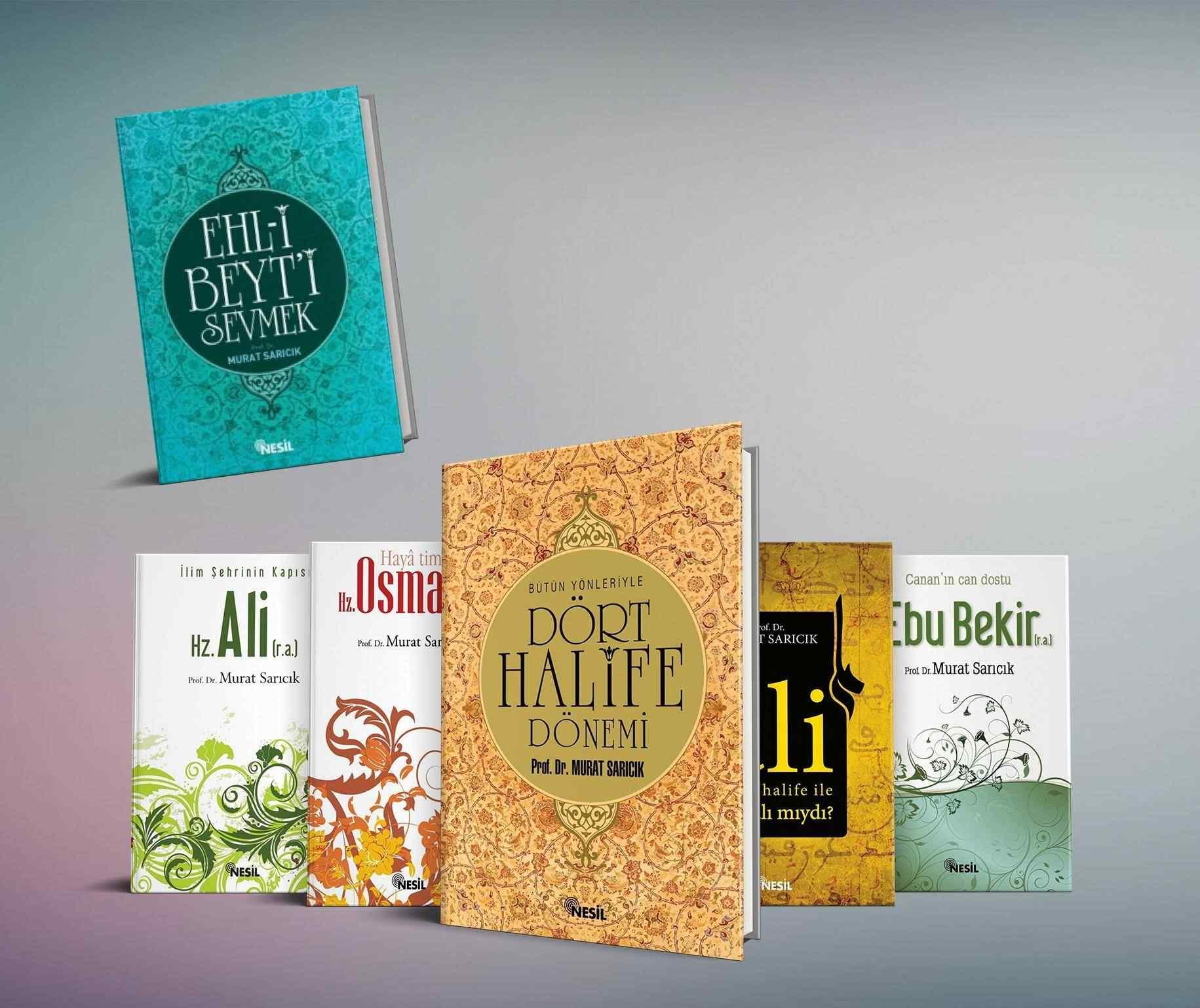HALİFELER seti - 6 Kitap