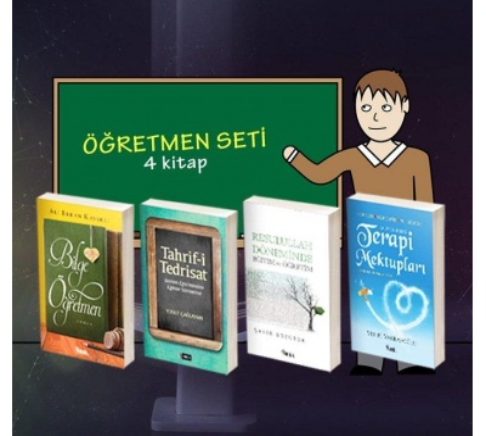 ÖĞRETMEN için kitap seti - 4 Kitap