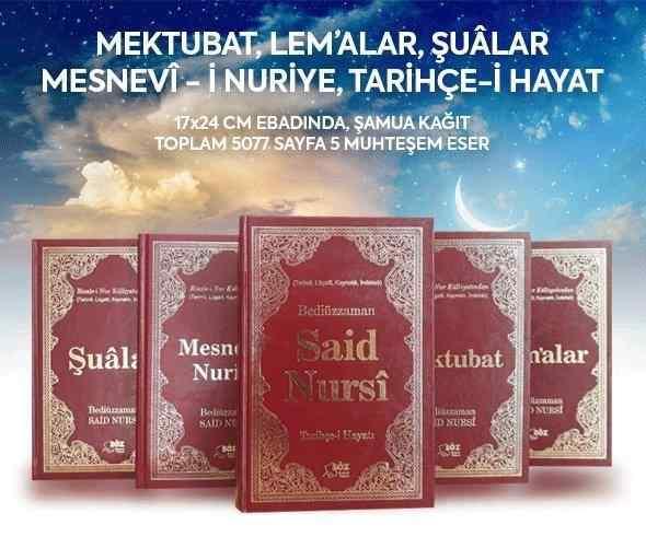 Risale-i Nur Külliyatı 5 Dev Eser