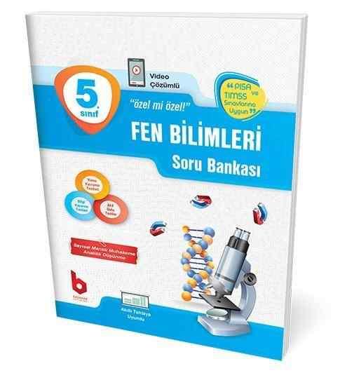 5. Sınıf Fen Bilimleri Soru Bankası Basamak Yayınları