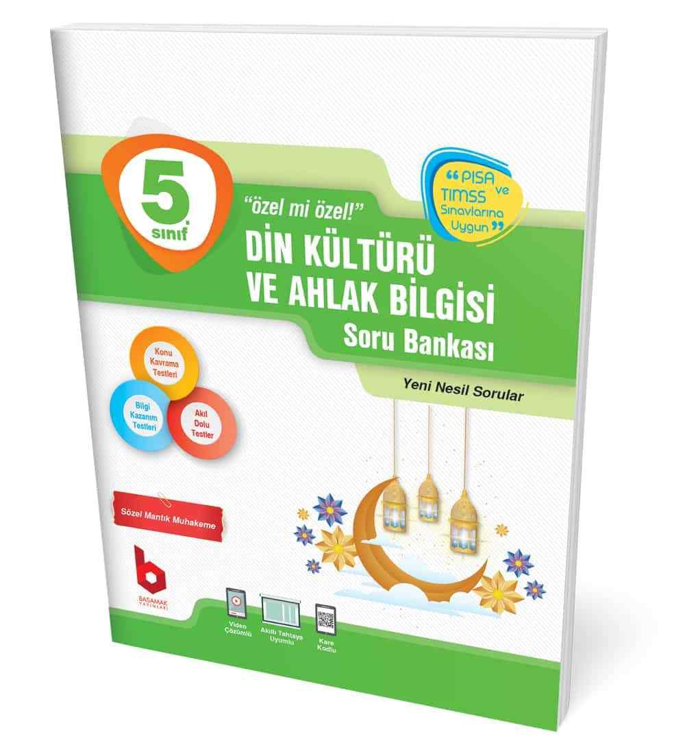 5. Sınıf Din Kültürü ve Ahlak Bilgisi Soru Bankası Basamak Yayınları