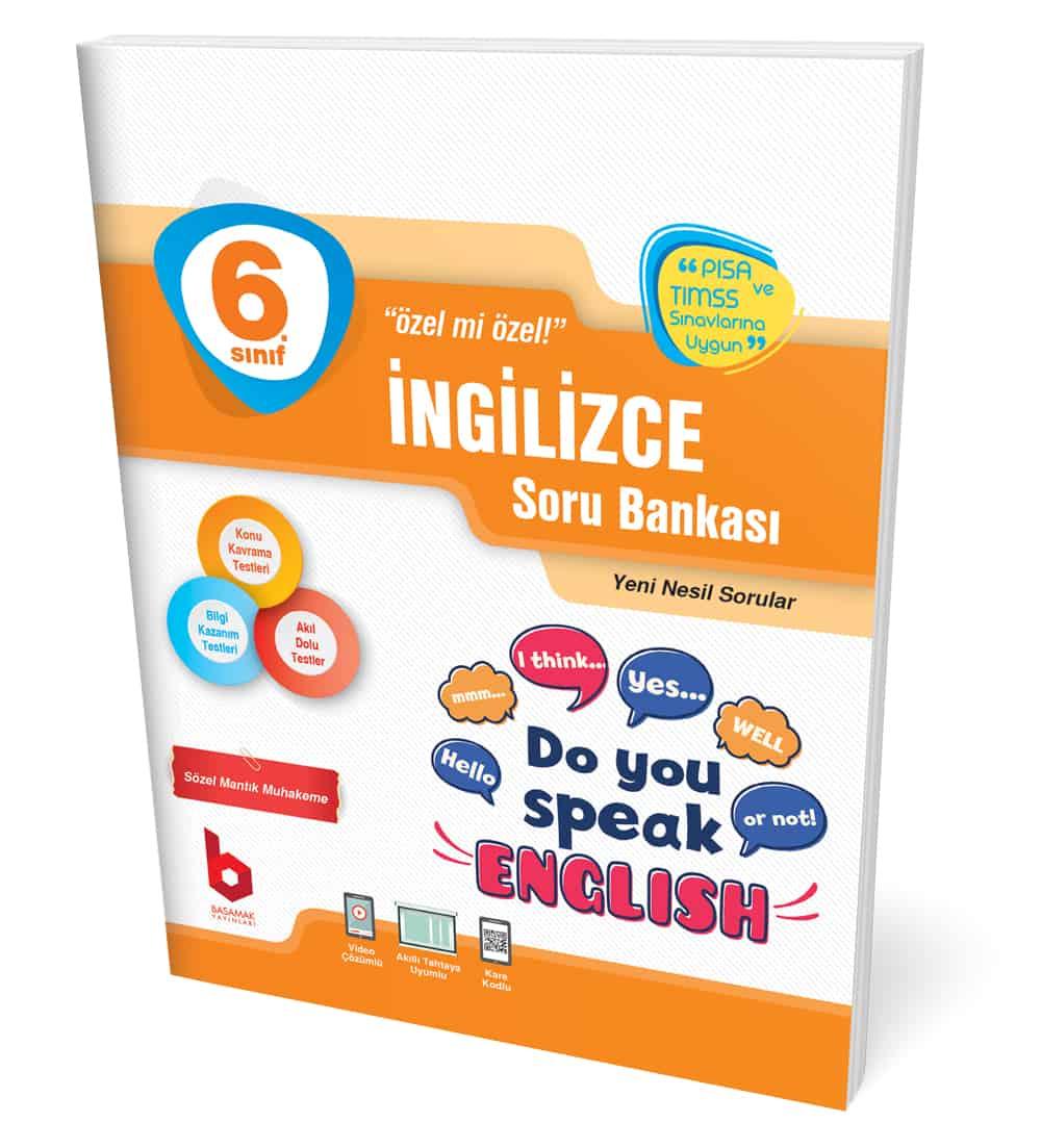 6. Sınıf İngilizce Soru Bankası Basamak Yayınları