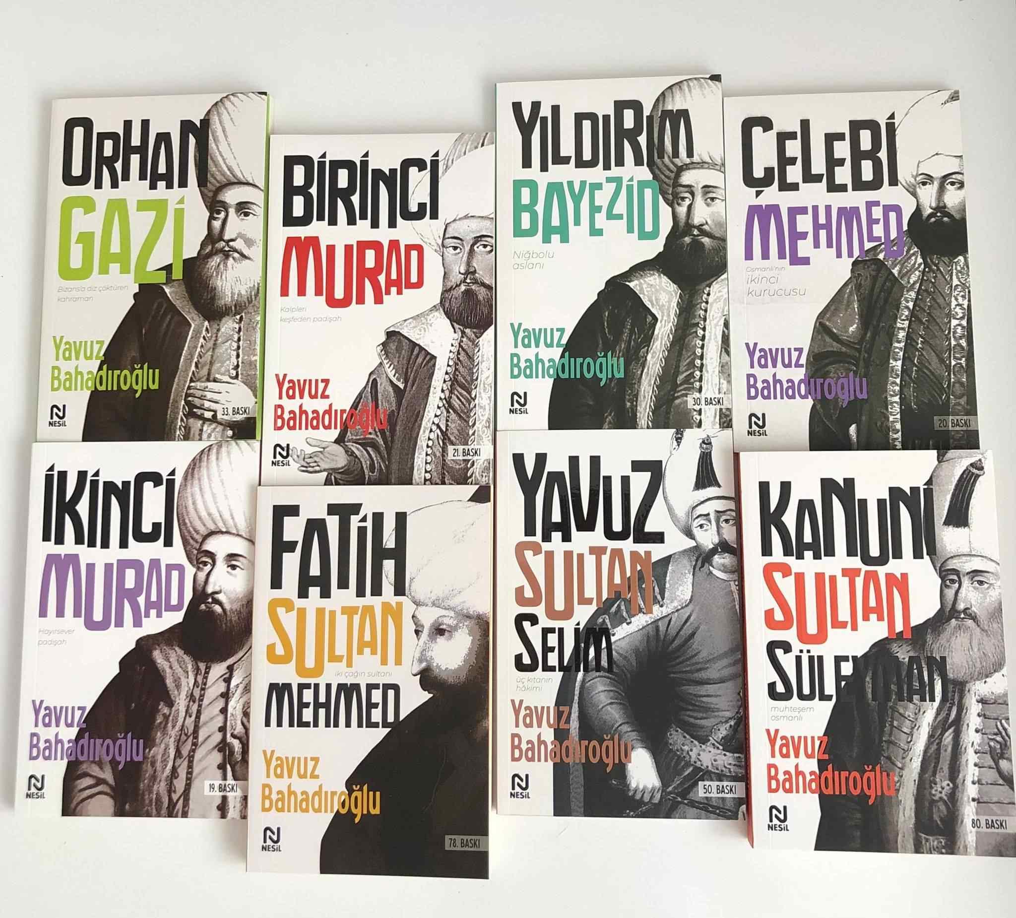 Padişahlar Serisi 8 kitap / Yavuz Bahadıroğlu